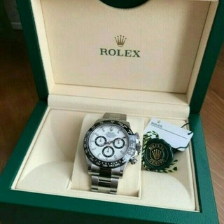 ロレックス(ROLEX)の【ロレックス】コスモグラフ デイトナ 116500LNホワイト(腕時計(デジタル))