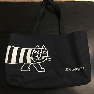 リサラーソン(Lisa Larson)のリサ・ラーソン  オリジナルデニム調バック(トートバッグ)