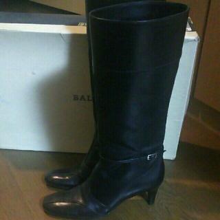 バリー(Bally)のバリー  BALLY  ロングブーツ  黒  ブラック  22.5(ブーツ)