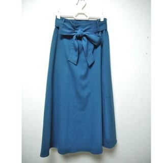 ジーユー(GU)のリボン付きスカート GU(その他)