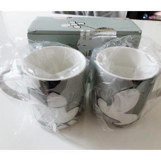 フランフラン(Francfranc)の【新品未使用】ペアマグカップ ミッキーミニー Francfranc(グラス/カップ)