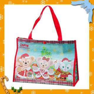 ディズニー(Disney)のクリスマス ディズニーシー限定 ジェラトーニ ダッフィー シェリーメイ 袋(キャラクターグッズ)
