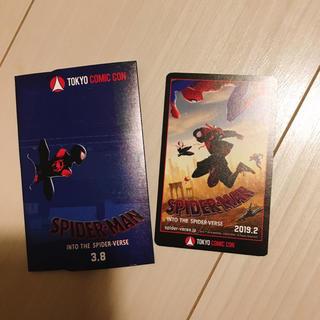 東京コミコン 限定 スパイダーマン:スパイダーバース ムビチケ