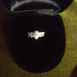 プラチナ ダイアモンドリング(リング(指輪))