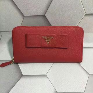 プラダ(PRADA)のPRADA 美品 長財布 (財布)