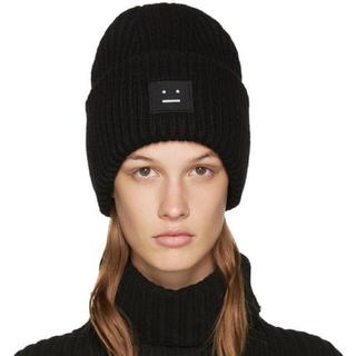 アクネ(ACNE)のACNE Pansy wool cap(ニット帽/ビーニー)