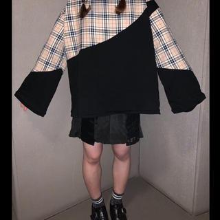 切り替えスカート(ミニスカート)