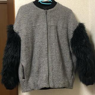 ローズバッド(ROSE BUD)の【美品】ROSE BUD ローズバッド ファーコート (毛皮/ファーコート)