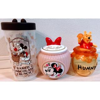 ディズニー(Disney)のパーク限定 おかしの入れ物 3点セット★(キャラクターグッズ)
