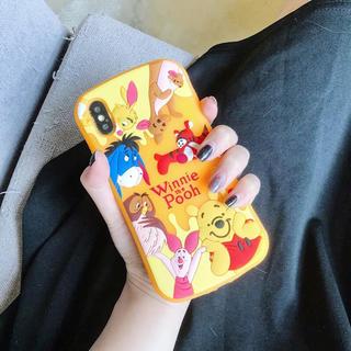ディズニー(Disney)の可愛らしいくまのプーさん 可愛い携帯ケース iPhoneケース アイフォンケース(iPhoneケース)