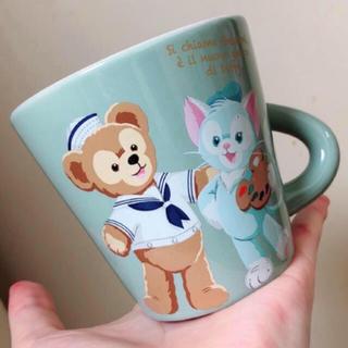 ディズニー(Disney)のディズニー ダッフィー ジェラトーニ スーベニア マグカップ(グラス/カップ)