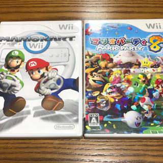 Wii - マリオカート マリオパーティ8 wii