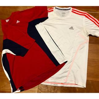 アディダス(adidas)のアディダスTシャツ  2枚組(トレーニング用品)