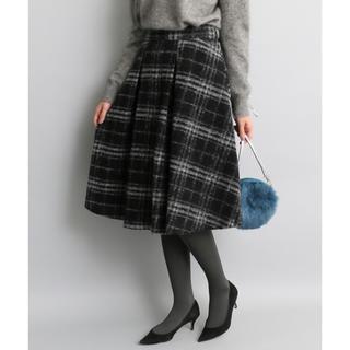 アーバンリサーチロッソ(URBAN RESEARCH ROSSO)の新品未使用♪ ROSSO スライバーKNIT スカート(ひざ丈スカート)