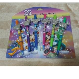 ディズニー(Disney)のTDR25周年 ボールペンセット(ペン/マーカー)
