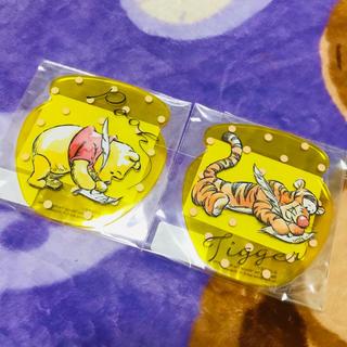 ディズニー(Disney)の新品プーさん ティガー コースターセット(キャラクターグッズ)