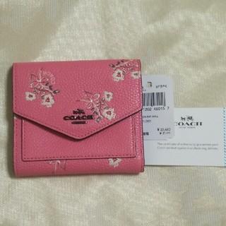 コーチ(COACH)の新品 COACH  折り財布(折り財布)