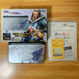 ニンテンドー3DS(ニンテンドー3DS)のnew NINTENDO 3DSLL モンスターハンター4G スペシャルパック(携帯用ゲーム機本体)
