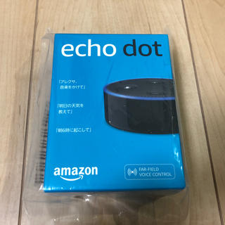 Amazon echo dot black 第2世代(スピーカー)