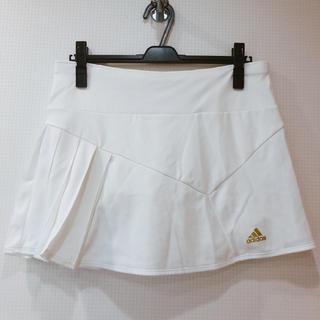 アディダス(adidas)の新品 adidas スコート キュロット 白 ブランド スポーツウェア テニス(ウェア)