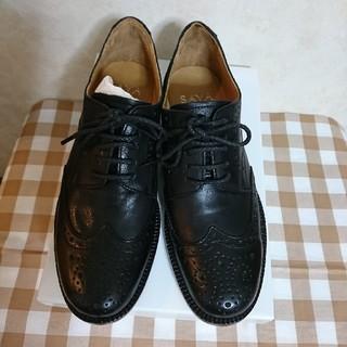 サヤ(SAYA)の★SAYA*ウィングチップカジュアルシューズ★レディース24㎝(ローファー/革靴)