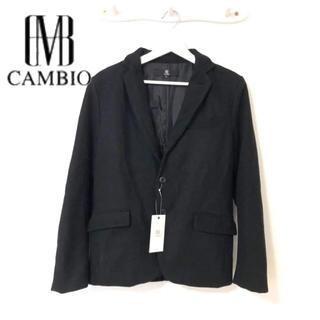 カンビオ(Cambio)の【新品】CAMBIO カンビオ ショート丈 チェスターコート ジャケット(チェスターコート)