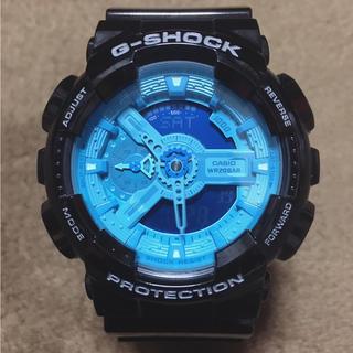 ジーショック(G-SHOCK)の【美品】G-SHOCK Hyper Colors GA-110B♪(腕時計(デジタル))