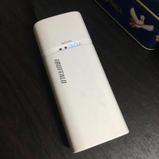 バッファロー(Buffalo)のBUFFALO モバイルバッテリー(バッテリー/充電器)