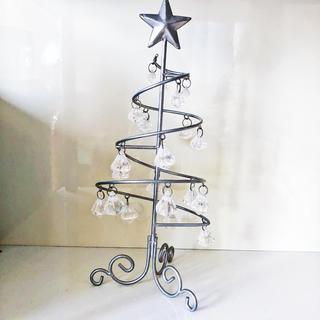 フランフラン(Francfranc)のクリスマスツリー クリスマス クリスタル インテリア 置物 雑貨 レア (置物)