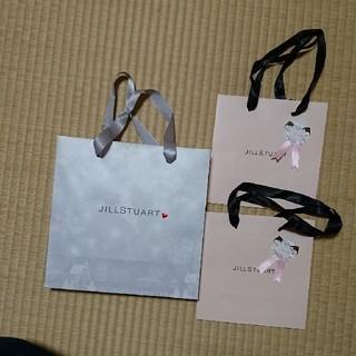 ジルスチュアート(JILLSTUART)のJILLSTUART限定ショップ袋1枚+ギフトシール付きショップ袋2枚セット(ショップ袋)