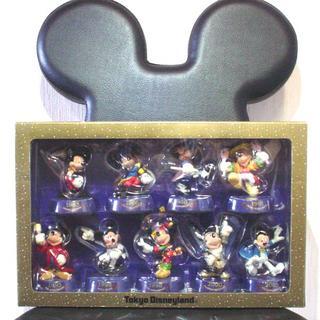 ディズニー(Disney)の☆お値下げしました【ミッキーフィギュア 9体セット】 ディズニーランド(キャラクターグッズ)