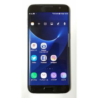 エヌティティドコモ(NTTdocomo)のDocomo Galaxy S7 edge SC-02H 割れあり(スマートフォン本体)