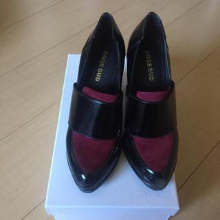 ローズバッド(ROSE BUD)のセール♫    ローズバッド  ヒールローファー(ローファー/革靴)