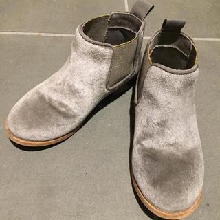 ザラ(ZARA)のザラ ZARA ブーツ27 16.5センチ シルバー (ブーツ)