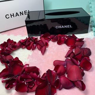 シャネル(CHANEL)のシャネル ティッシュ ケース アクリル製品 ボックス 非売品(チャーム)