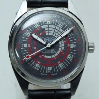 オリス(ORIS)のオリス ORIS ミリタリー ブラックダイヤル 手巻き腕時計(腕時計(アナログ))