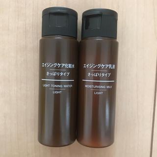 ムジルシリョウヒン(MUJI (無印良品))の無印良品 エイジングケア化粧水&乳液 セット(化粧水 / ローション)