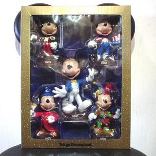 ディズニー(Disney)の☆お値下げしました【ミッキー首振り人形 5体セット】 ディズニーランド(キャラクターグッズ)
