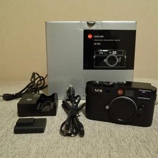 ライカ(LEICA)の【メイ様専用】LEICA M9 ブラックペイント CCD交換済み ライカ(デジタル一眼)