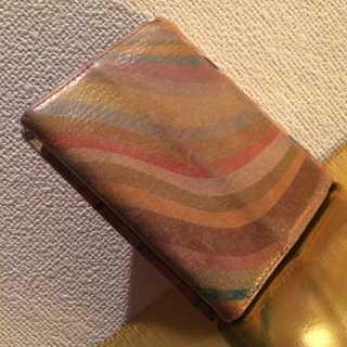 ポールスミス(Paul Smith)の本物 PaulSmith メンズ 二つ折り財布 正規品 まだまだ使える(折り財布)