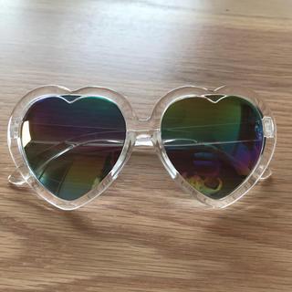 サングラス ハート レインボー 虹色 6個セット リゾ婚(サングラス/メガネ)