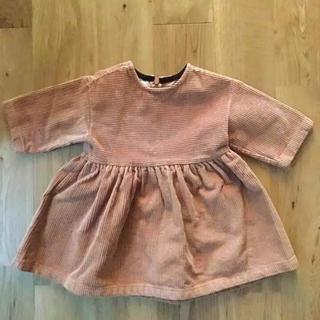 キャラメルベビー&チャイルド(Caramel baby&child )の韓国子供服 コーデュロイ ワンピース(ワンピース)