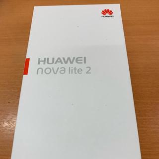 HUAWEI nova lite 2 SIMフリー(スマートフォン本体)