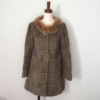 ローズバッド(ROSE BUD)の極美品♡高級フォックスファーコート(毛皮/ファーコート)