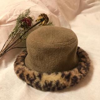 ロキエ(Lochie)のvintage leopardhat(ハット)