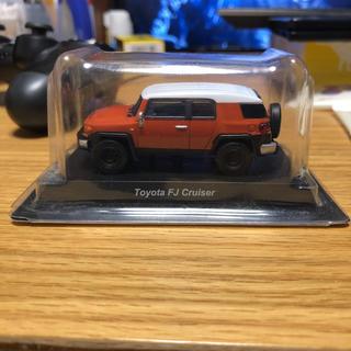 トヨタ(トヨタ)の京商 1/64 トヨタ FJクルーザー オレンジ(模型/プラモデル)