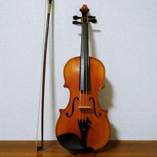 【希少上級虎杢ワンピース】Ma Zhibin 1/2 バイオリン(ヴァイオリン)
