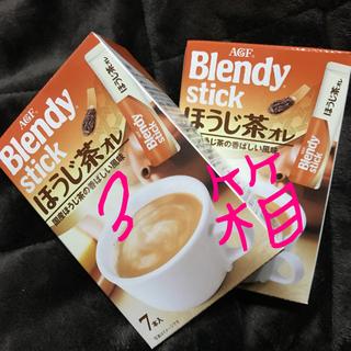 エイージーエフ(AGF)の21本 ブレンディスティック ほうじ茶オレ(その他)