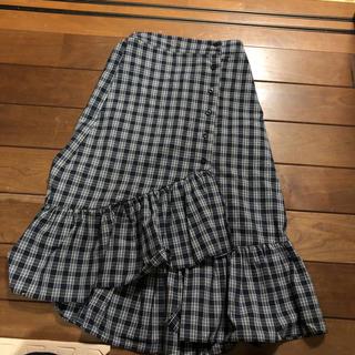 ザラ(ZARA)のスカート フリル(ひざ丈スカート)