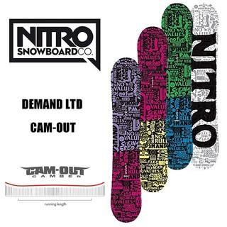 ナイトロ(NITRO)の未使用新品NITRO DEMAND LTD146 CAM-OUT キャンバー  (ボード)